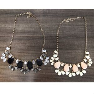 Nordstrom statement necklaces (2 pack)